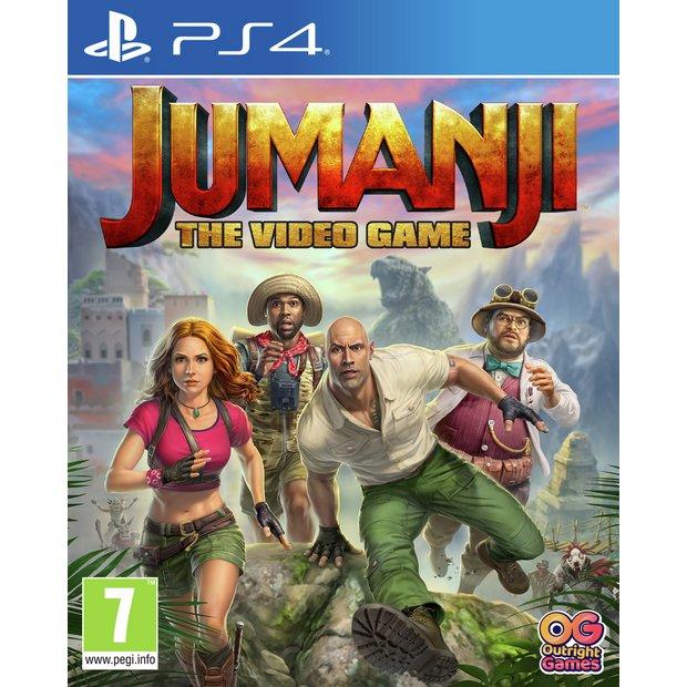 Buy Jumanji The Video Game Ps4 Ps4 Games Argos