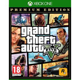 Grand Theft Auto V Premium Edition Xbox One Game