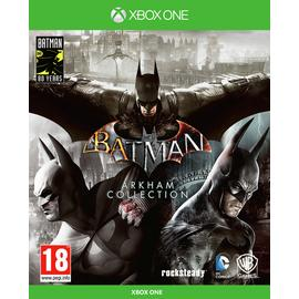 Batman Arkham Collection Steelbook Edition Xbox One Game