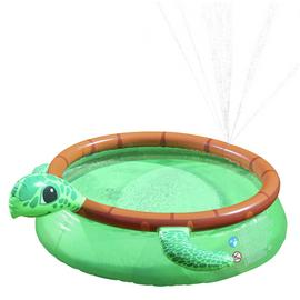 Chad Valley Turtle Quick Up Pool - 6ft - 757 Litres