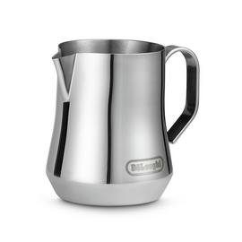 De'Longhi 350ml Milk Jug - Brushed Stainless Steel