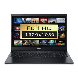 Acer Aspire 3 15.6 Inch A9 4GB 1TB FHD Laptop - Black