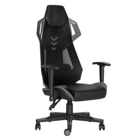 Argos Home Stealth Faux Leather Gaming Chair - Grey
