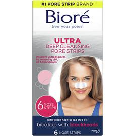 Bioré Deep Cleansing Ultra Pore Strips x 6