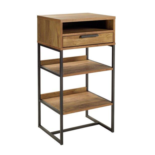 Argos Home Nomad 1 Drawer Standing Desk - Oak Effect