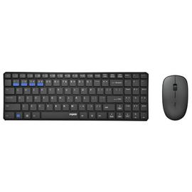 Rapoo 9300M Wireless Multi-Mode Mouse and Keyboard - Black