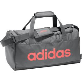 Adidas Linear Small Grey and Pink Holdall