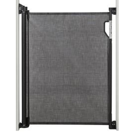 Dreambaby Retractable Gate Fits Gaps Up To 140Cms - Black
