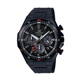 Casio Men's Edifice Chronograph Black Resin Strap Watch