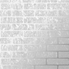 Superfresco Milan Brick Silver Wallpaper