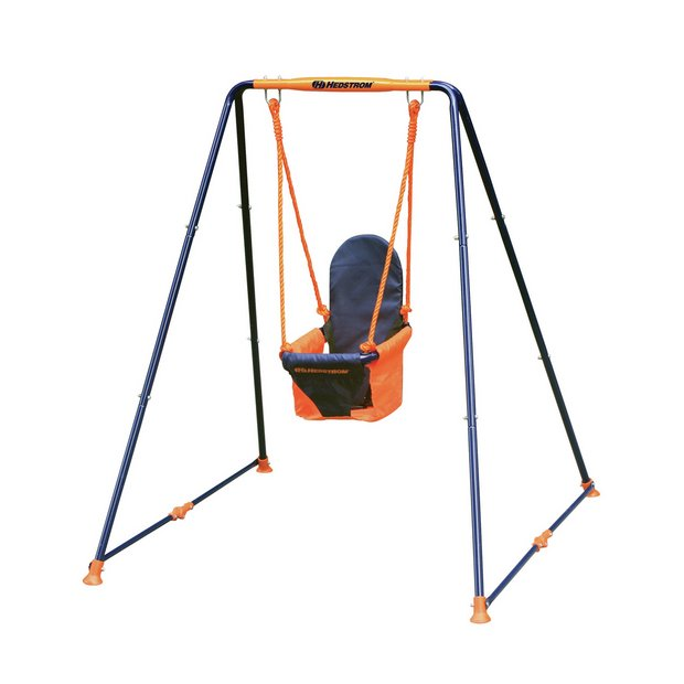 buy hedstrom deluxe folding toddler swing at your online shop for swings swings. Black Bedroom Furniture Sets. Home Design Ideas