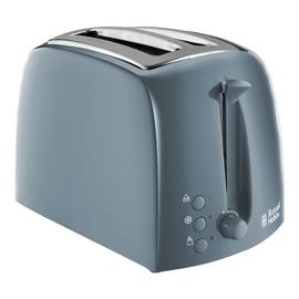 Russell Hobbs 21644 Textures 2 Slice Toaster - Grey