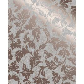 Superfresco Milan Scroll Rose Gold Wallpaper