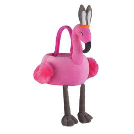 Easter Flamingo Soft Toy Basket