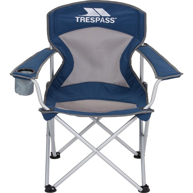 buy trespass aluminium deluxe camping chair at. Black Bedroom Furniture Sets. Home Design Ideas