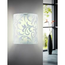 Eglo Grafik Swirl Wall Light - White