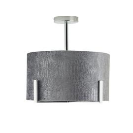 Argos Home Boutique Snake Effect Ceiling Light - Grey