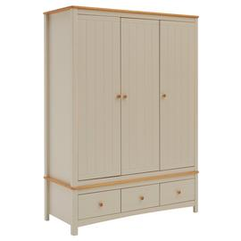 Argos Home Bournemouth 3 Door 3 Drawer Wardrobe
