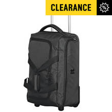 IT Megalite Large Lightweight 2 Wheel Holdall - Black
