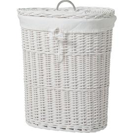 Argos Home Willow 60 Litres Linen Bin - White