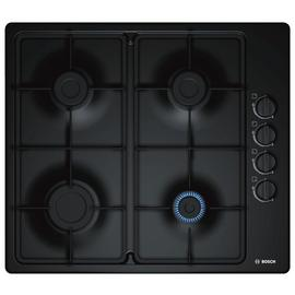 Bosch PBP6B6B60 Cast Iron Support Gas Hob - Black