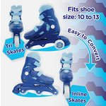 more details on Chad Valley Tri to Inline Skates - Blue.