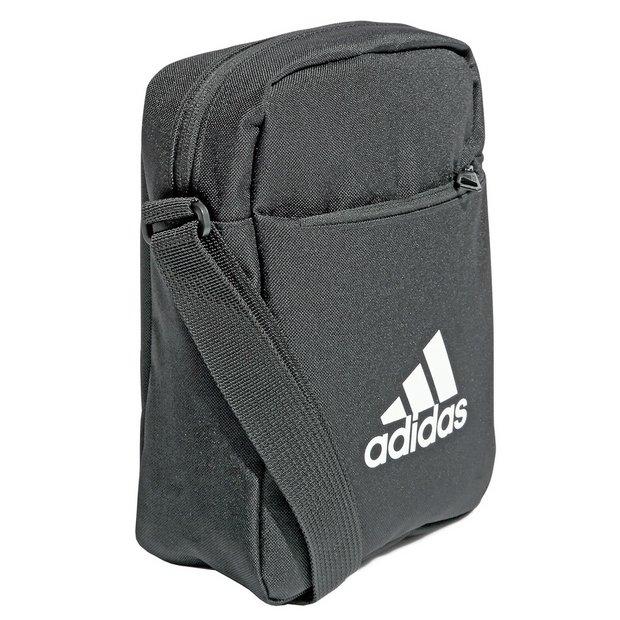 Buy Adidas 2L Mini Messenger Bag Black | Backpacks | Argos
