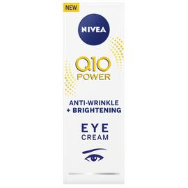 NIVEA Q10 Power Anti-Wrinkle + Brightening Eye Cream - 15ml