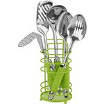 more details on ColourMatch Stainless Steel 5 Pc Utensils Set- Apple Green.