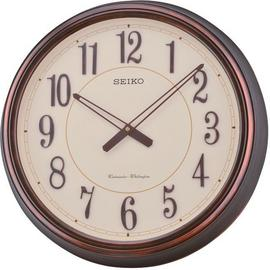 Seiko Antique Copper Chime Wall Clock.
