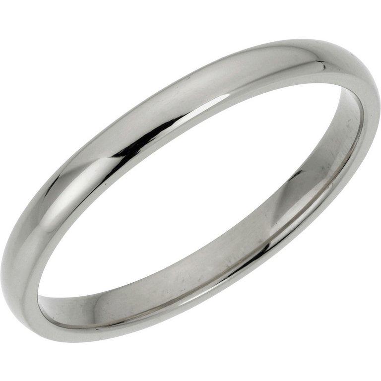 buy 9ct white gold court wedding ring at argos co uk