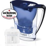 more details on Best Water Technology Filter Jug Plus One Cartridge - Blue.