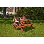 more details on Chad Valley Wooden Picnic Bench.