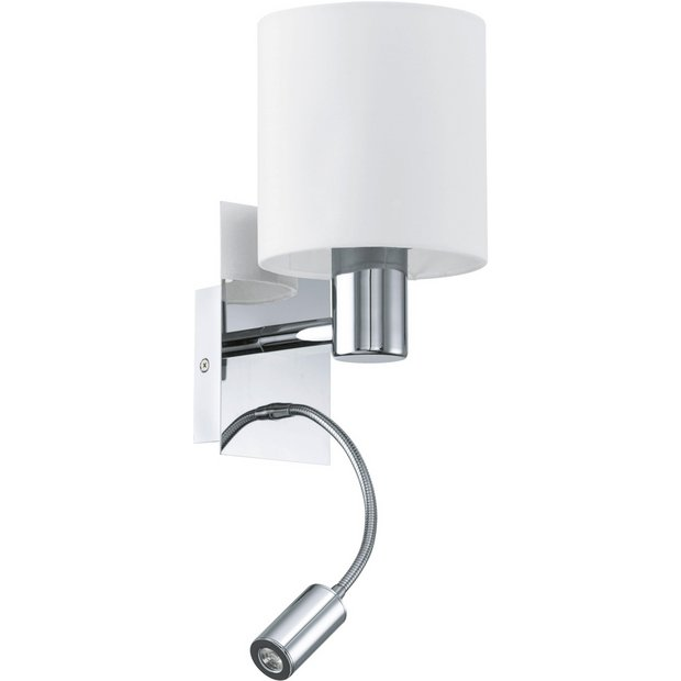 Buy Eglo Halva LED Wall Light at Argos.co.uk - Your Online Shop for Ceiling and wall lights ...