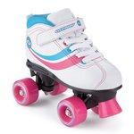 more details on Osprey Disco Quad Children's Skates 4 - White.