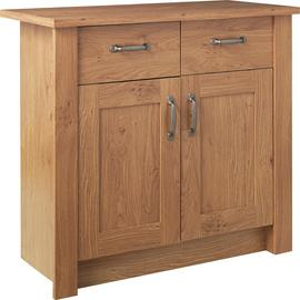 Argos Home Ohio 2 Door 2 Drawer Sideboard - Oak Effect