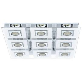 Eglo Cabo 9 Point Square LED Ceiling Light