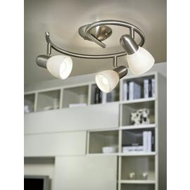 Eglo Dakar 3 Point Swirl Ceiling Light.
