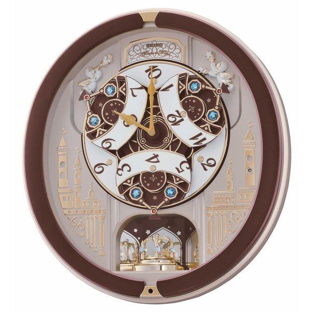 Buy Seiko Moving Melody Rotating Pendulum Wall Clock At