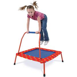 Galt 2ft Folding Kids Trampoline - Red and Blue