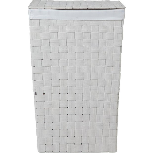 Buy Colourmatch Yarn Laundry Bin White At Argos Co Uk Your Online Shop For Linen Baskets And