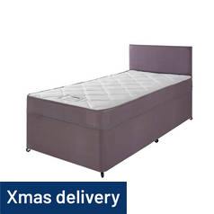 Forty Winks Newington Essential Divan Bed - Single