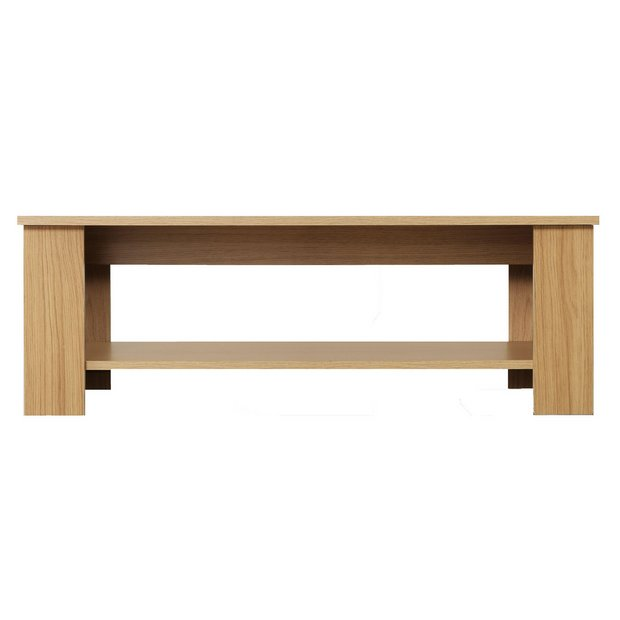 Glass Coffee Table From Argos: Oak Effect At Argos.co.uk