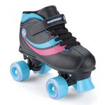 more details on Osprey Disco Quad Children's Skates 4 - Black.