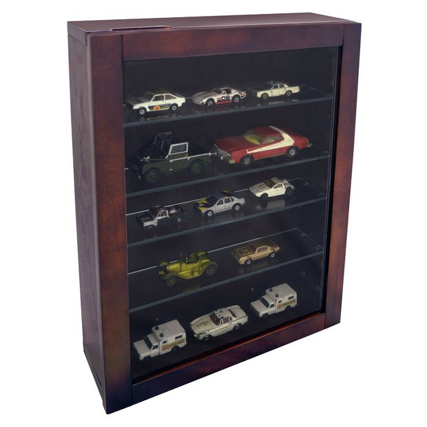 Single Door Glass Display Cabinet Mahogany Effect Cabinets And Argos