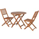more details on HOME Newbury 2 Seater Bistro Set.