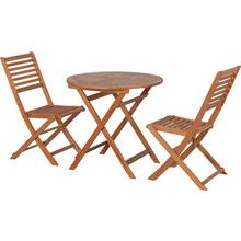 HOME Newbury 2 Seater Wooden Bistro Set