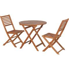 Argos Home Newbury 2 Seater Wooden Bistro Set