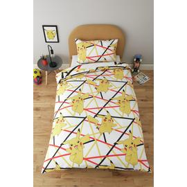 Pokemon Pikachu Bedding Set - Single