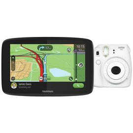 TomTom Essential 6 Inch Sat Nav EU Maps with Instax Mini 9